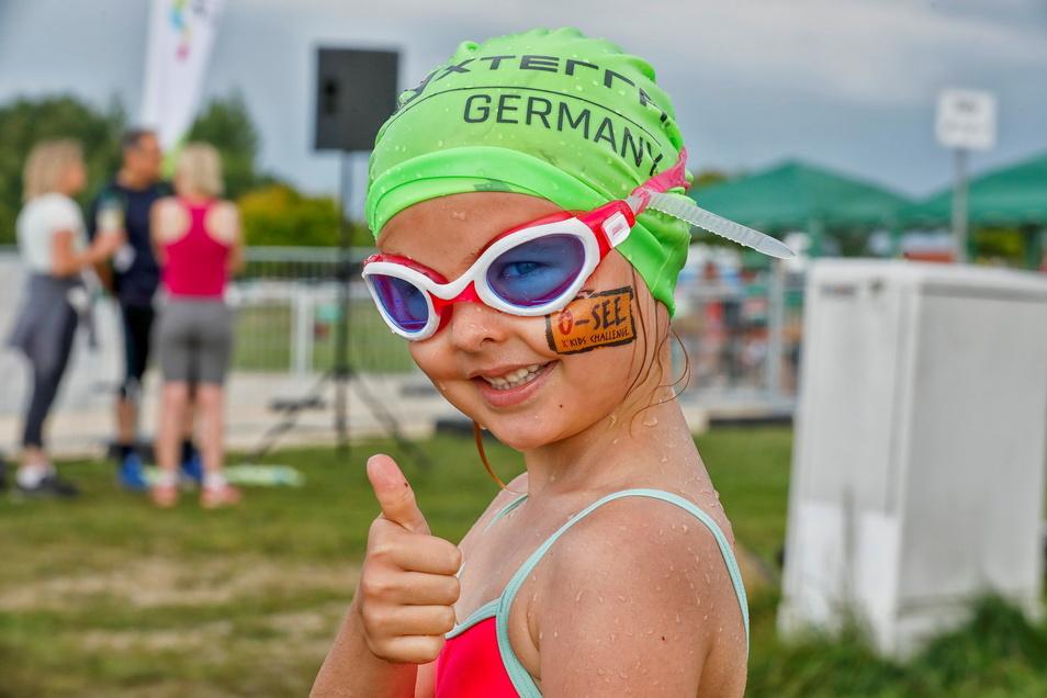 Es war wieder top! Die 19. O-See Challenge ist Geschichte. Großartige Eindrücke werden bleiben - nicht nur für die sechsjährige Theresa aus Zittau, die zu den jüngsten Starterinnen gehörte.