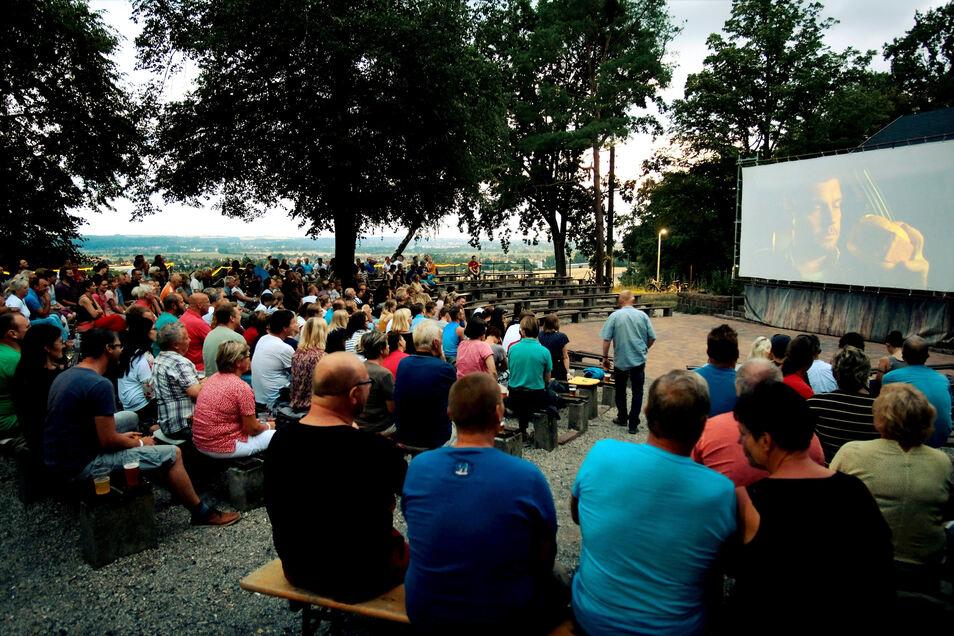 Sommerkino auf dem Gellertberg. Ob es dieses Jahr stattfinden kann, steht noch nicht fest.