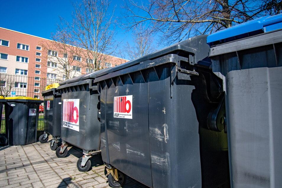Im Landkreis Mittelsachsen werden jährlich rund 33.000 Tonnen Restmüll entsorgt.
