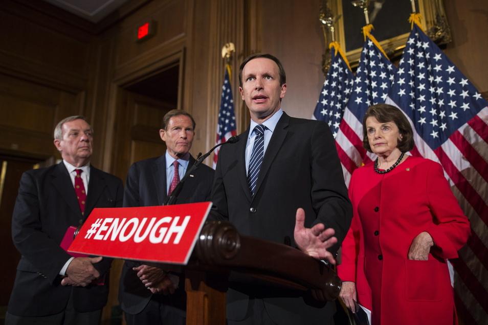 Der demokratische Senator Chris Murphy aus dem US-Bundesstaat Connecticut darf nicht nach Russland einreisen.