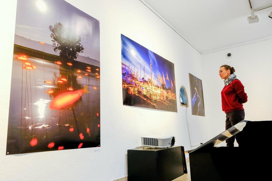 Eternamagica - ewiger Zauber nennt Fotograf André Wirsig seine Fotoschau zu den Weinfesten von Radebeul in der Stadtgalerie.