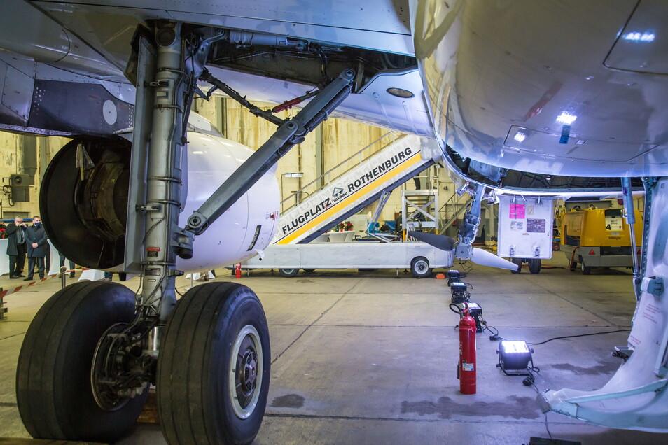 Ob in Rothenburg ausrangierte Flugzeuge im großen Stil zerlegt werden, ist noch nicht sicher. Vor allem fehlt es an Förderung für ein Projektmanagement direkt vor Ort.