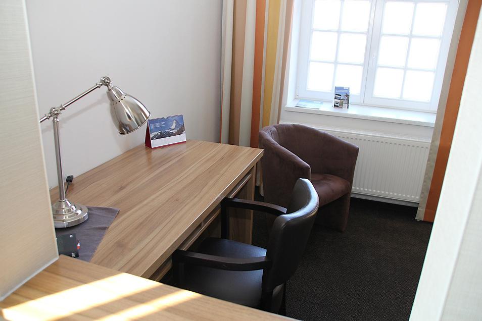 Die 33 Hotelzimmer des Hauses wurden in Zeiten von Homeoffice kurzerhand zu Büros umfunktioniert.