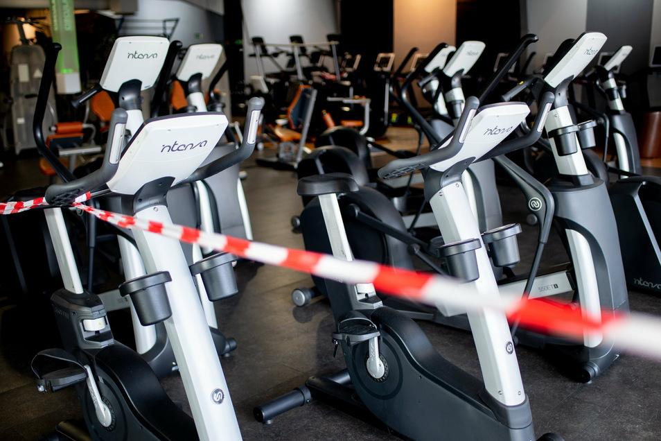 Nichts geht mehr: Alle Fitnessstudios mussten schließen.