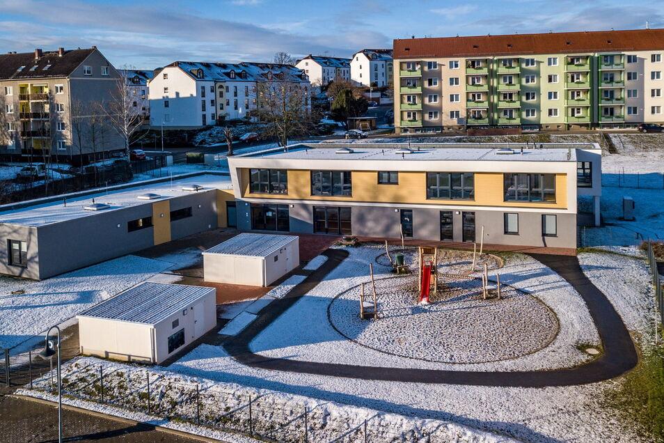 Für Waldheim ein besonderes Ereignis in diesem Jahr war die Inbetriebnahme der neu gebauten Kindertagesstätte, auch wenn der Start wegen Corona alles andere als einfach war.