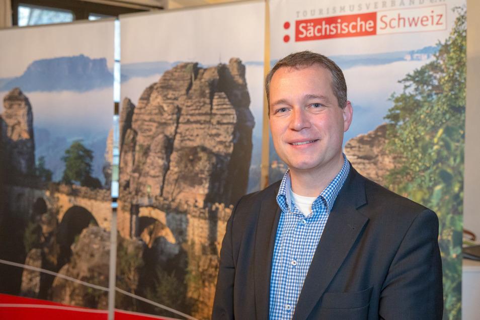 Tino Richter ist Geschäftsführer des Tourismusverbands Sächsische Schweiz.
