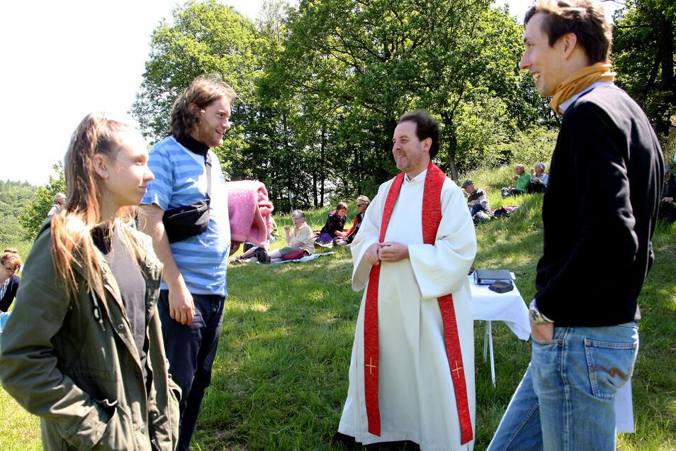 Daniel Lamprecht war die Arbeit mit jungen Leuten immer wichtig, wie hier zu Pfingsten in diesem Jahr.