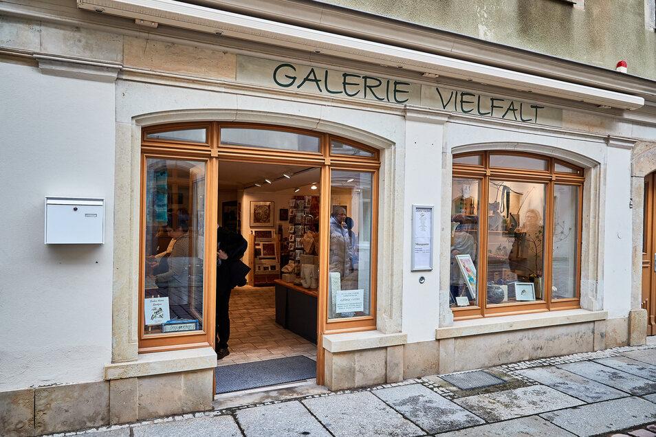 Nun steht die Tür offen: Wer und was ist in der Galerie Vielfalt auf der Pirnaer Barbiergasse zu sehen?