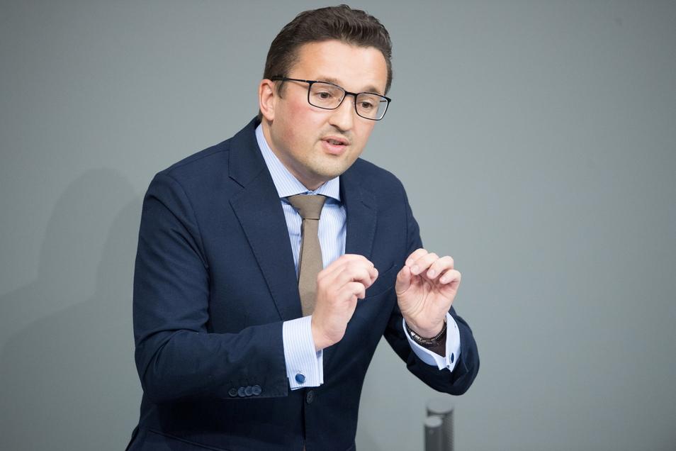 Der neue Chef der sächsischen CDU-Bundestagsabgeordneten, Carsten Körber.