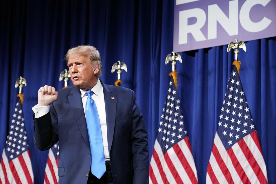 Donald Trump ist jetzt offiziell der Kandidat der Republikaner für die Präsidentschaftswahl im November.