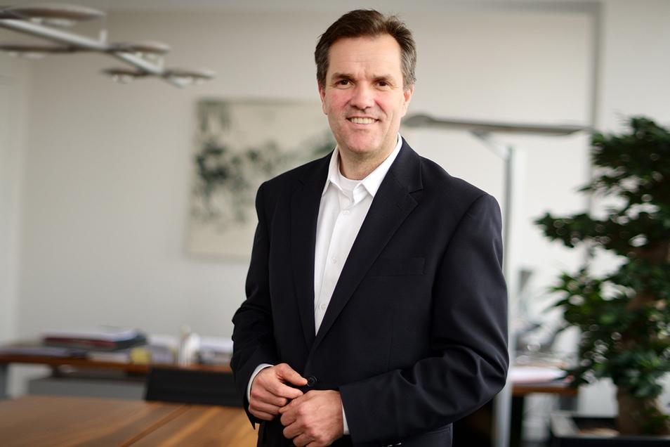 Carsten Dietmann ist Geschäftsführer der DDV-Mediengruppe zu der auch Sächsische.de und die Sächsische Zeitung gehören.