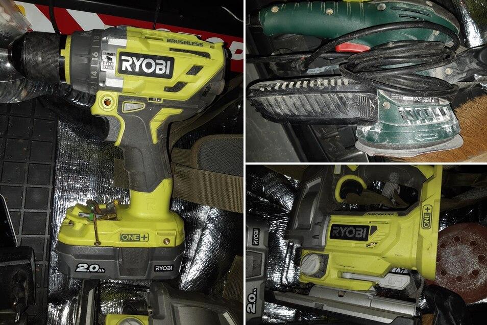 Dieses Werkzeug haben Polizisten in den Rucksäcken der beiden Männer gefunden.