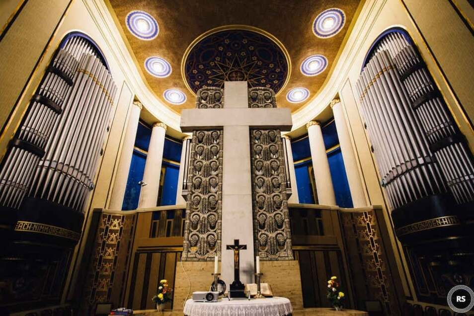 Die Orgel in der Görlitzer Kreuzkirche. Hier wird auch Metallica gespielt beim Wunschkonzert von Starlights live.