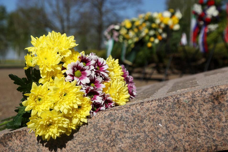 Am 8. Mai soll es ein stilles Gedenken am Mahnmal am Platz der Jugend geben.