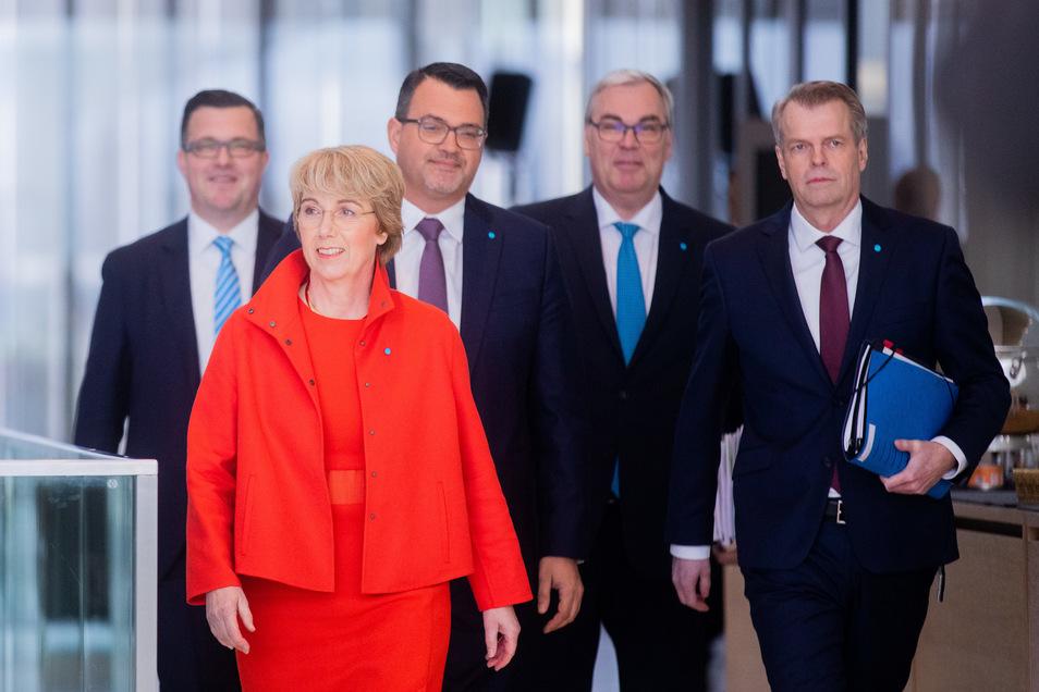 Martina Merz ist neue Vorstandsvorsitzende von Thyssenkrupp - allerdings derzeit nur vorübergehend.