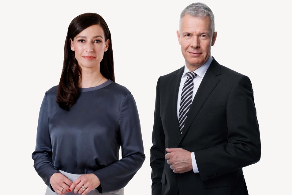 Pinar Atalay wechselt zu RTL und soll dort mit Peter Kloeppel (r.) und Jan Hofer Nachrichtenformate voranbringen.