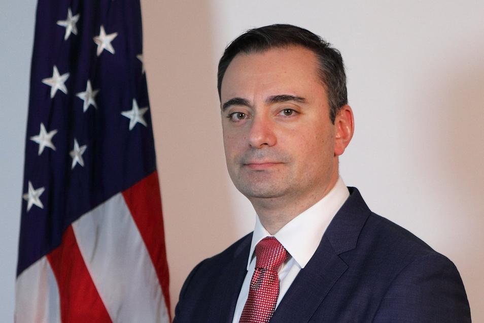 Timothy Eydelnant war seit Juli 2017 US-Generalkonsul in Leipzig. Nun kehrt der Diplomat in die USA zurück.