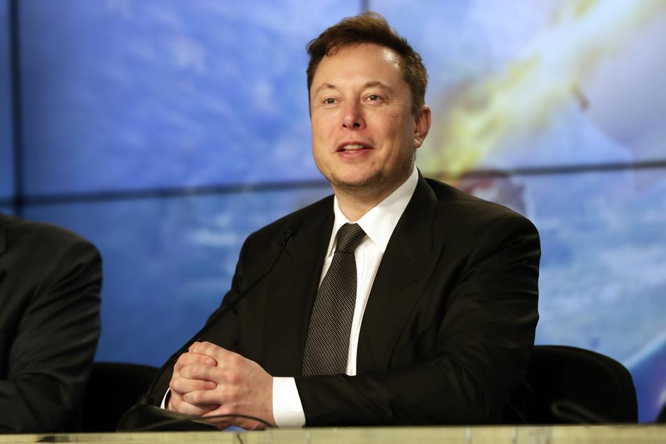 Milliardär Elon Musk hat große Pläne - wie immer.