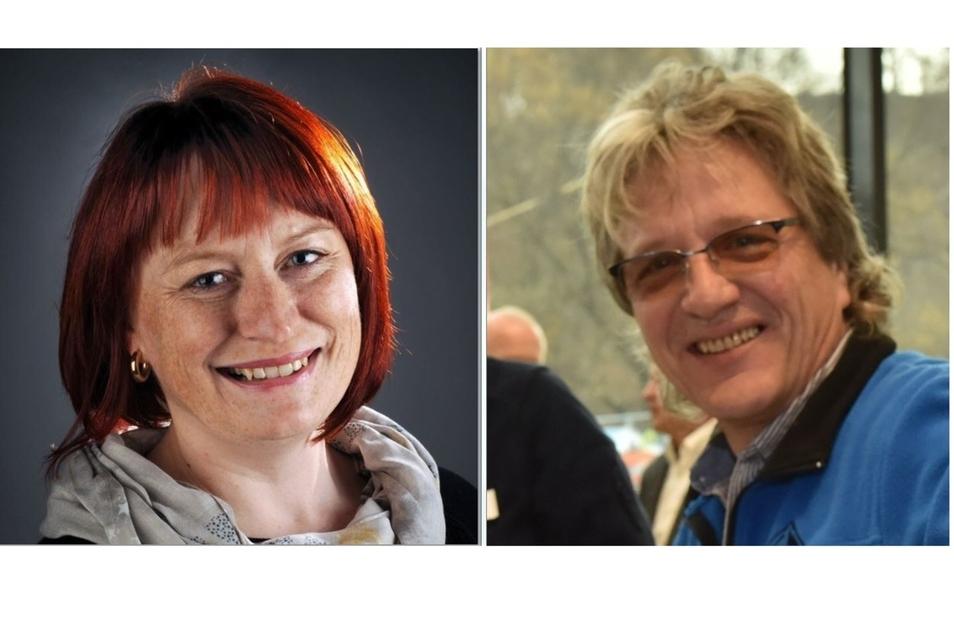 Kerstin Körner (CDU) und Dirk Massi (Einzelbewerber).