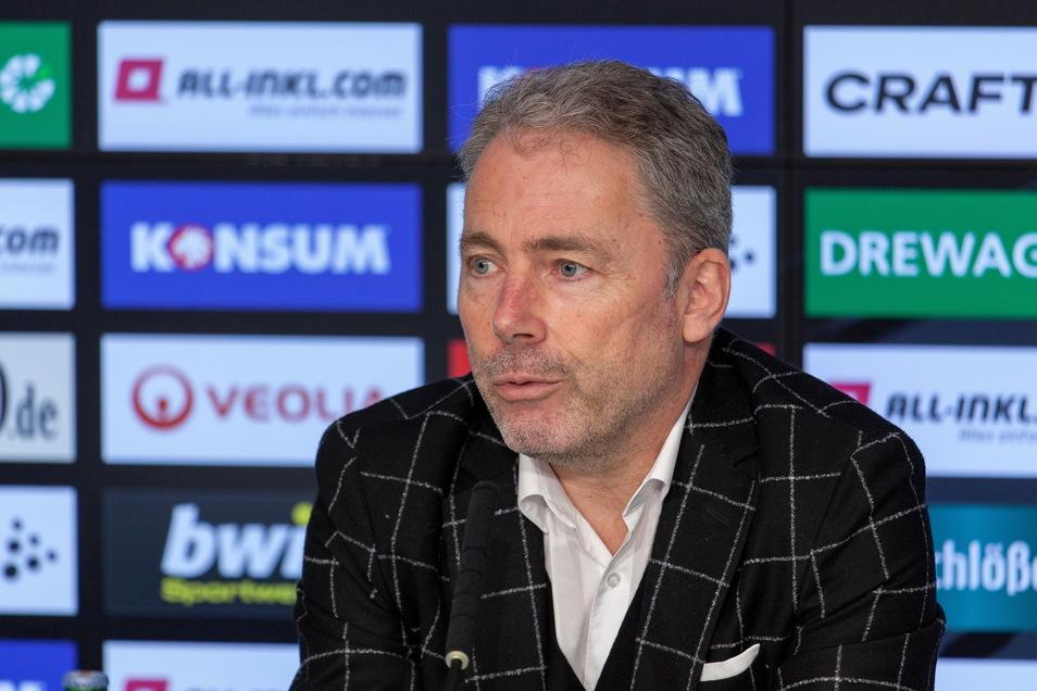 Jürgen Wehlend ist Dresdner und seit Januar als kaufmännischer Geschäftsführer bei Dynamo. Als Manager sucht er die Lösungen in der Krise - und plant einen Modellversuch.