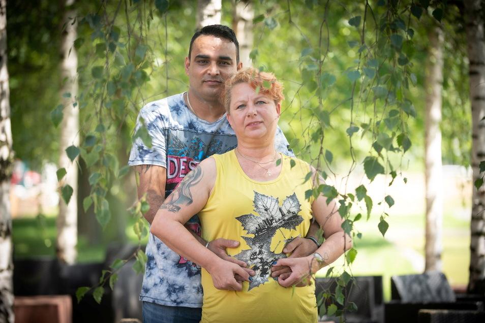 Jhanna und Amit Kumar heirateten vor sechs Jahren auf Schloss Albrechtsberg.
