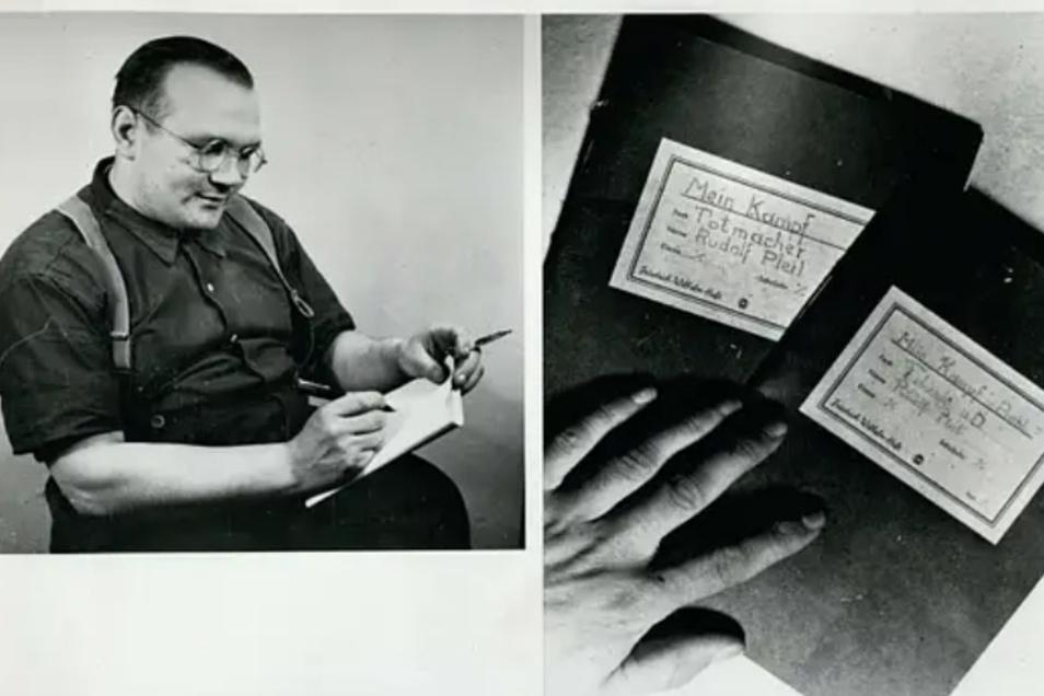 """In der Haft schrieb Rudolf Pleil seine """"Beichte"""" nieder. Er nannte sie """"Mein Kampf""""."""
