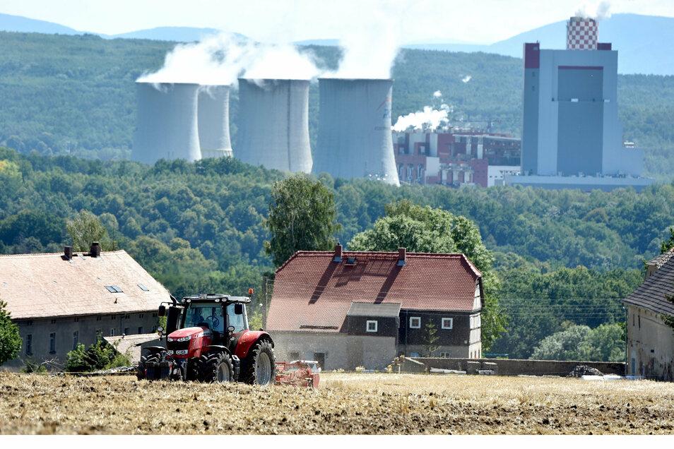 Kraftwerk Turow, Polen Honorarfrei für Produkte von sächsische.de und Sächsischer Zeitung