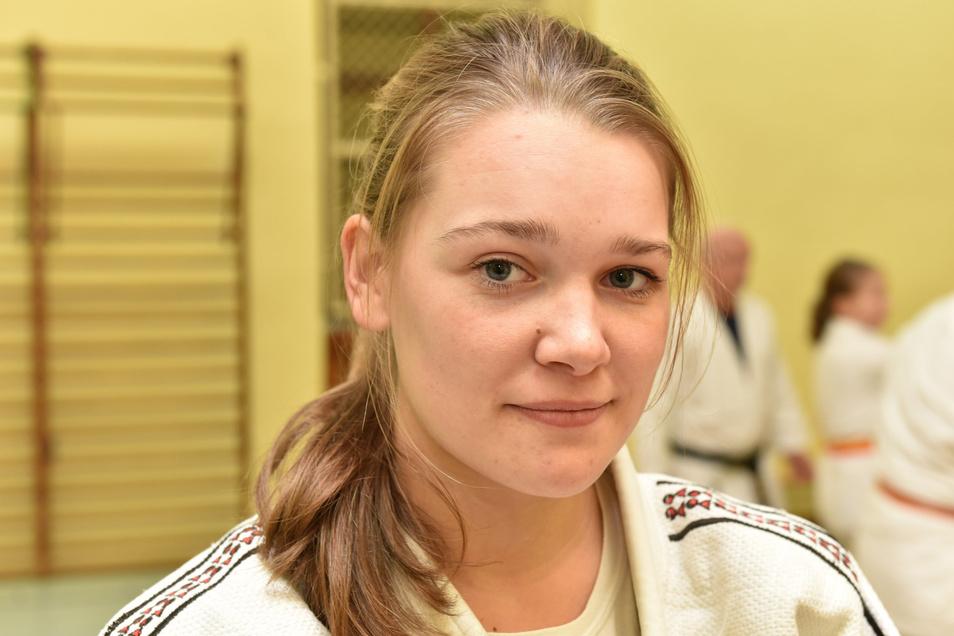 Julia Klügel hat ein Kompliment vom Bundestrainer bekommen.