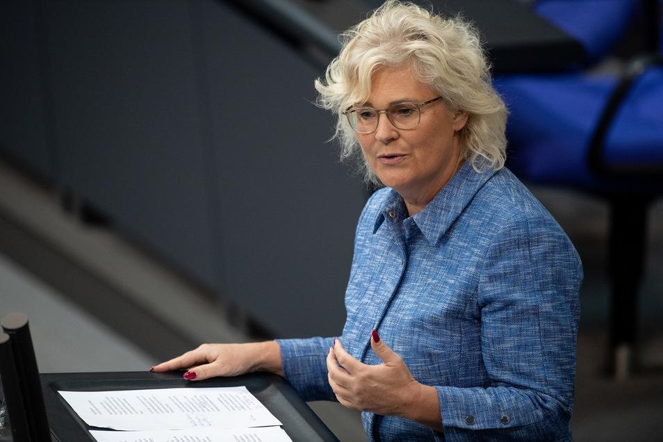 Christine Lambrecht war zuletzt parlamentarische Staatssekretärin im Finanzministerium.