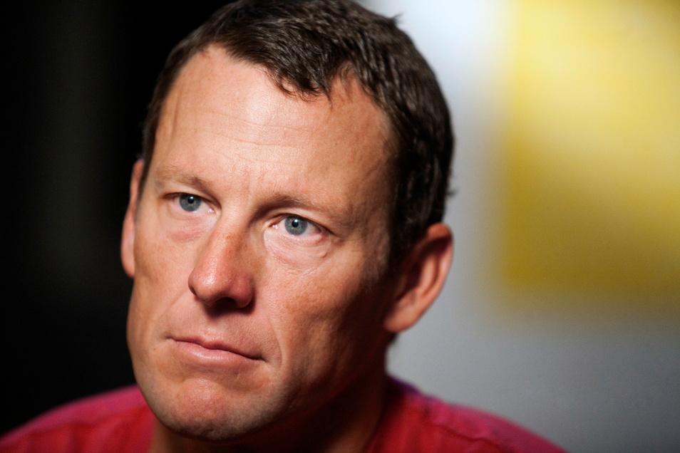 Der ehemalige US-Radprofi Lance Armstrong bei einem Interview im Jahr 2011.