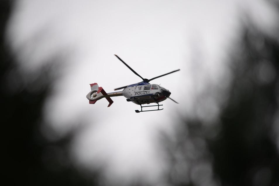 Nach Dienstag suchte auch am Mittwochvormittag noch einmal der Polizeihubschrauber nach dem vermissten Nieskyer. Am Mittag fand der 75-Jährige dann selbstständig nach Hause.