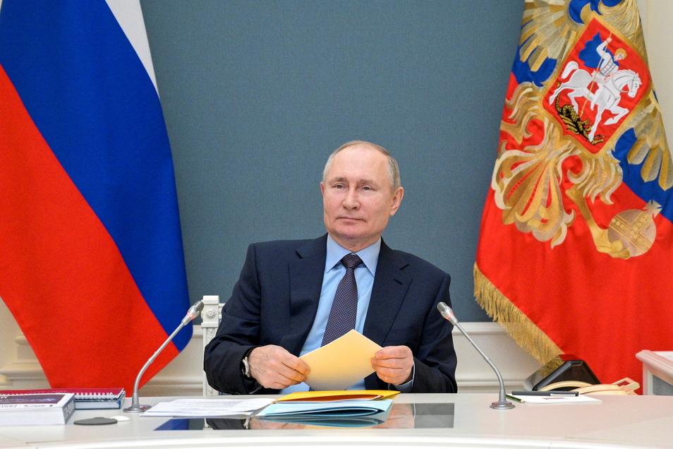 Kremlchef Wladimir Puten