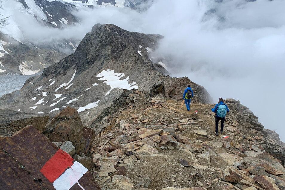 Kein Wellness-Trip: Wandern in 3.000 Metern Höhe.
