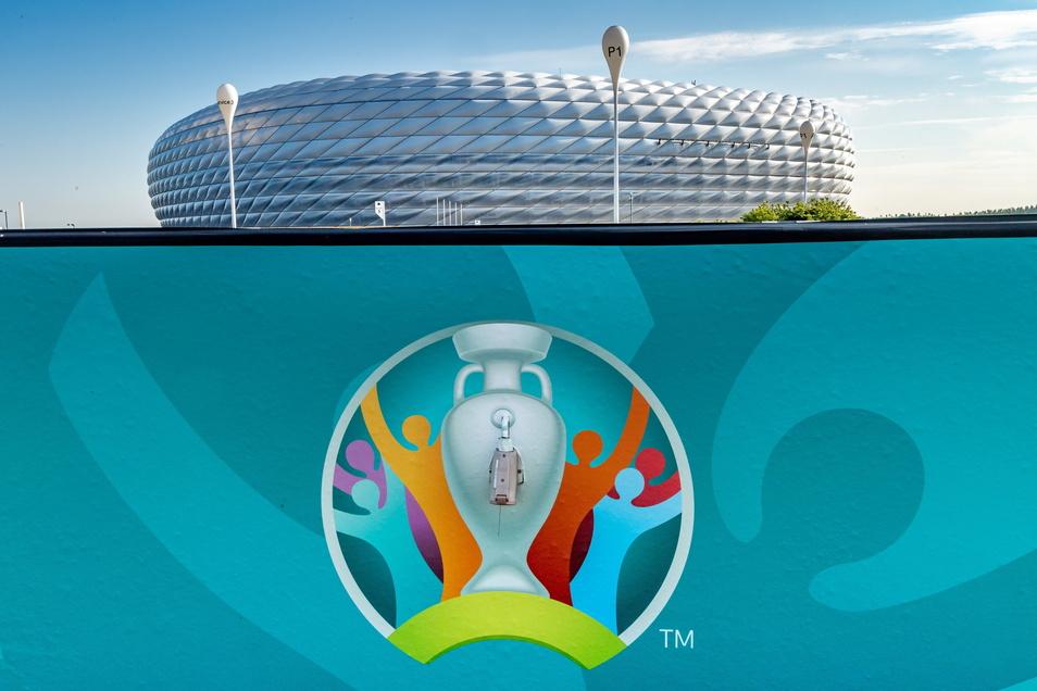 Auch in der Münchner Allianz Arena wird bei der Fußball-Europameisterschaft gespielt. Hier finden die drei deutschen Vorrundenspielen und ein Viertelfinale statt.