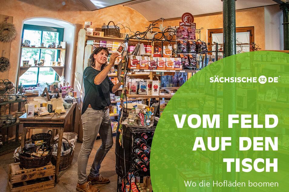 Im Hofladen im Gut Gadewitz sind die in der hauseigenen Mühle hergestellten Gadewitzer Öle besonders gefragt.