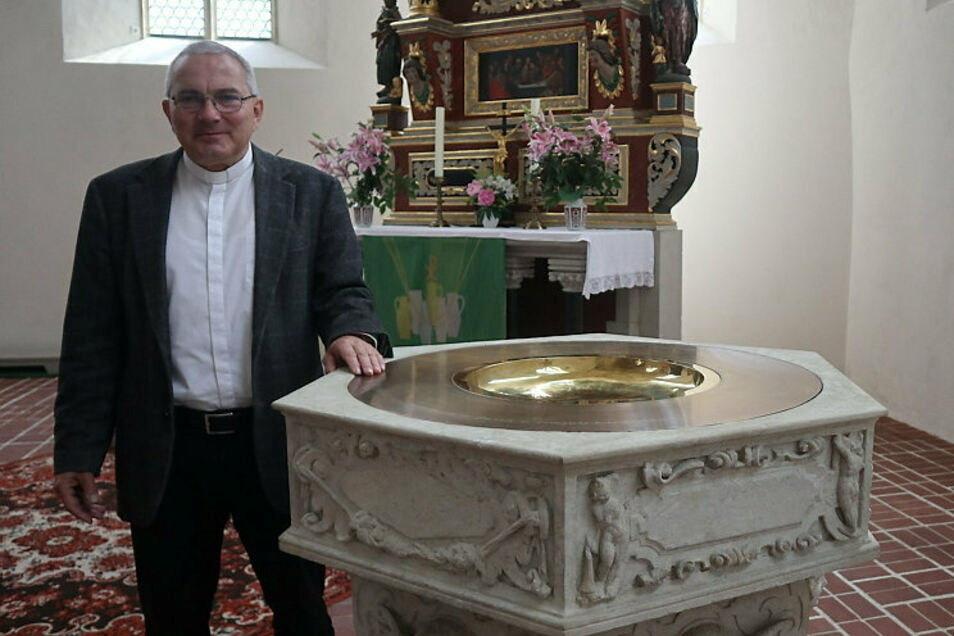 Jan Malink war 17 Jahre sorbischer evangelische Superintendent in Bautzen und ging im vorigen Jahr in den Ruhestand.