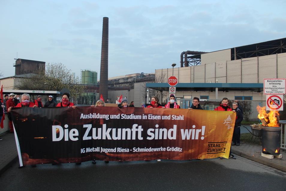 Die Gewerkschafter und Betriebsräte setzen sich auch für den Nachwuchs ein.