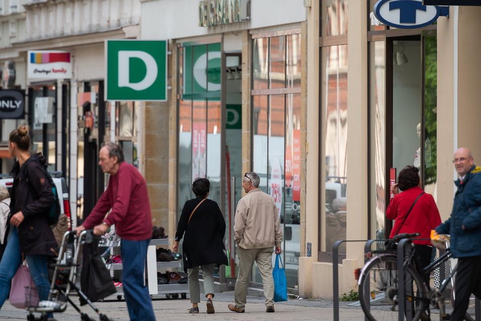 Die Inzidenz in Görlitz ist wieder zweistellig. Das hat Auswirkungen aufs Einkaufen.