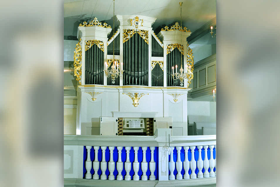 Die letztvollendete und nahezu unverändert gebliebene Orgel in Nassau – hier endet der Pfad.
