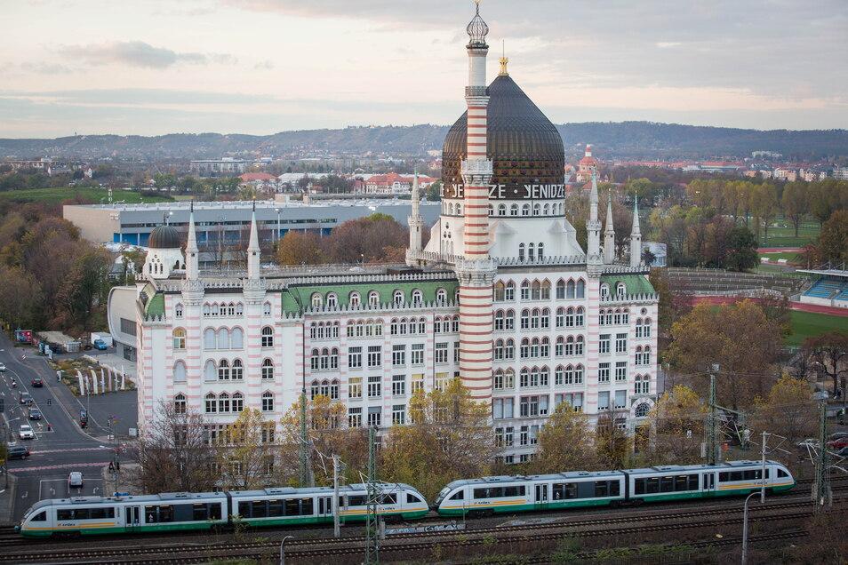 Die Yenidze in Friedrichstadt steht symbolisch für die Geschichte Dresdens als deutsche Tabakhauptstadt.