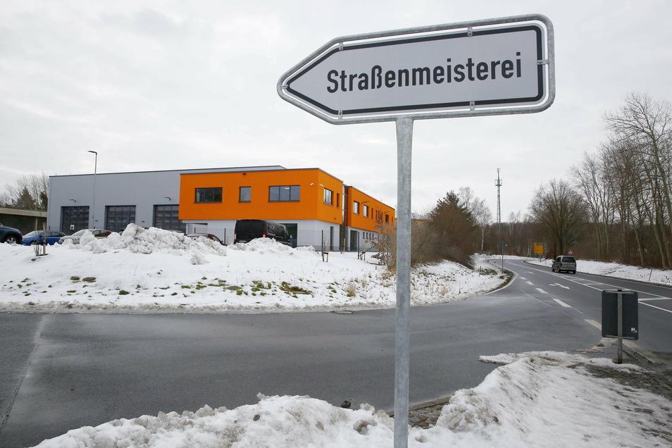 Die neue Straßenmeisterei in Königsbrück befindet sich direkt an der B 97.
