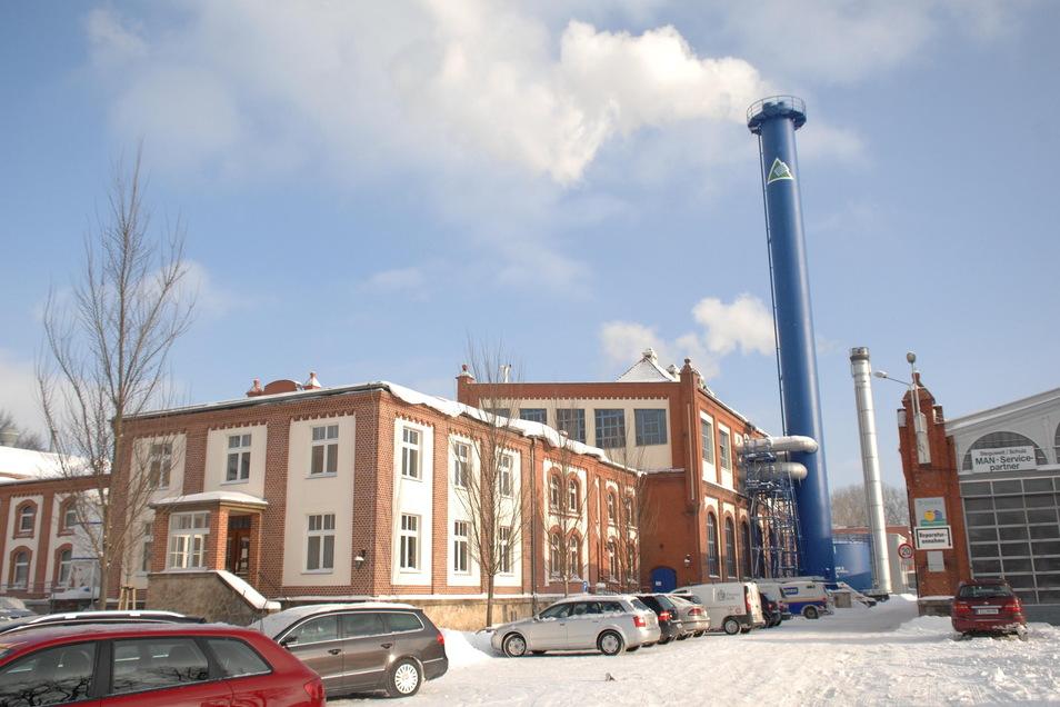 Der Stammsitz der Stadtwerke Zittau an der Friedensstraße.