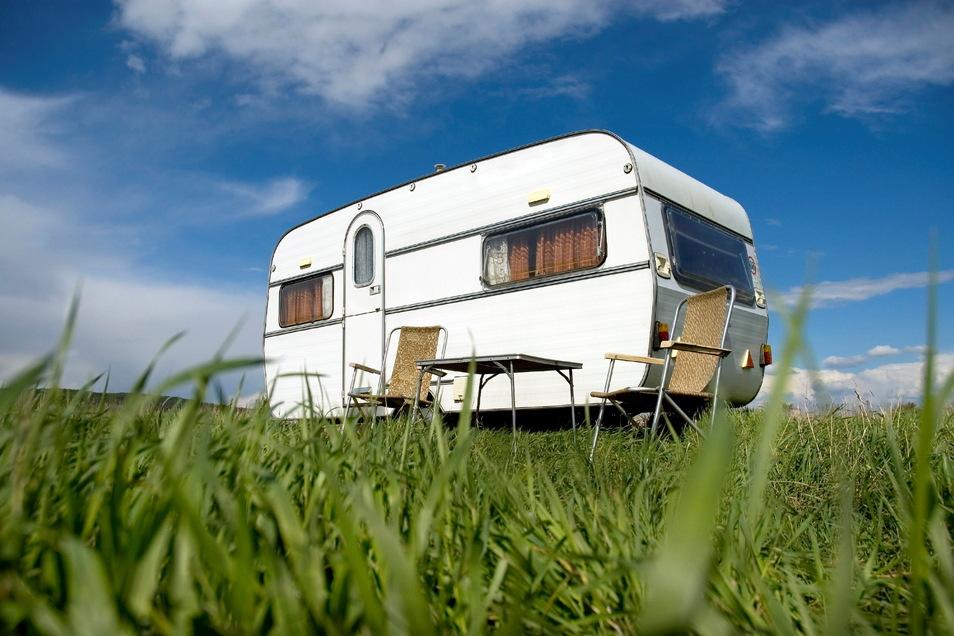 Verlassen sind die Campingplätze in der Oberlausitz derzeit aufgrund der Corona-Pandemie. Die AfD fordert eine schnell Öffnung.