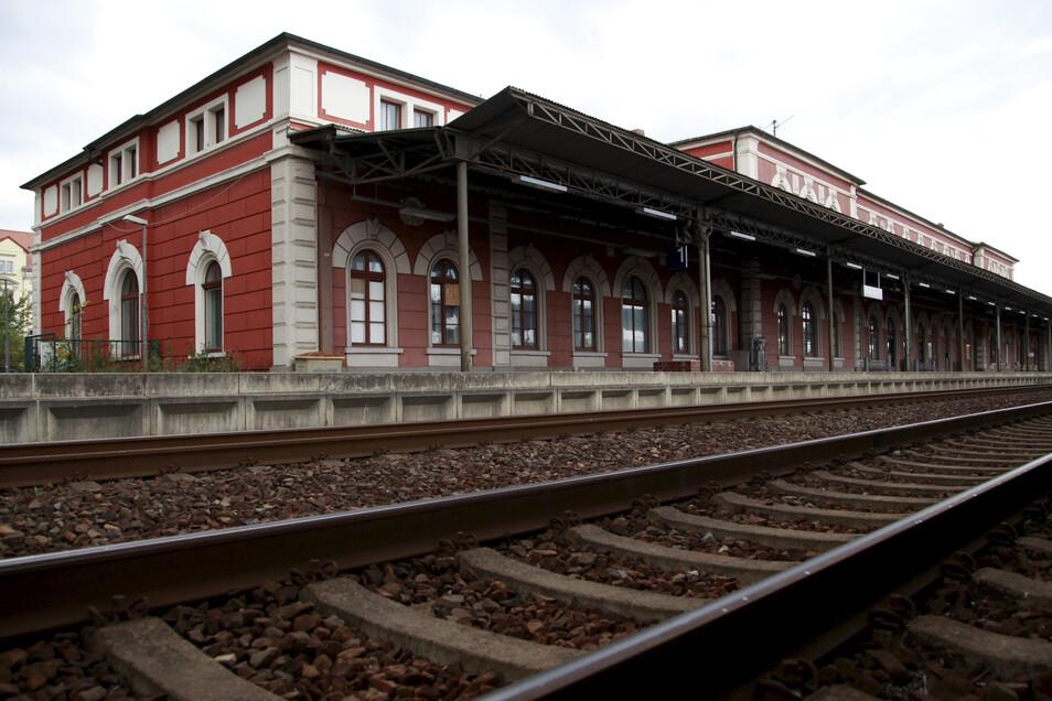 Auf dem Bahnhof in Löbau kam's zur körperlichen Auseinandersetzung zwischen zwei Männern.