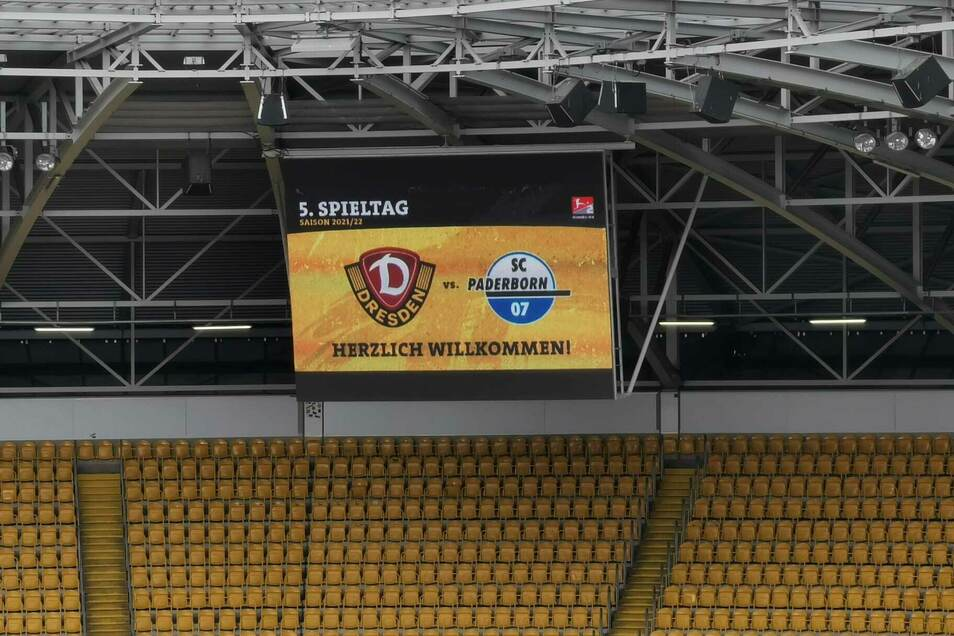 Dynamo trifft um 13.30 Uhr im Rudolf-Harbig-Stadion auf den SC Paderborn. Es ist das Spitzenspiel in der 2. Bundesliga.
