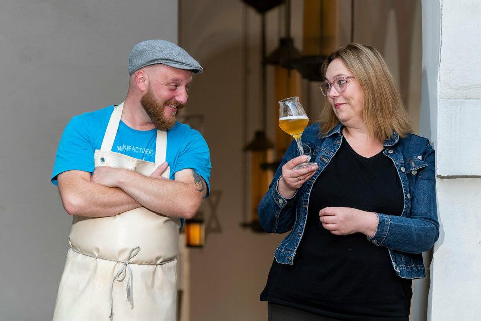Bier spielt eine ganz besondere Rolle im Leben von Alexander Klaus und Diana Metzner. Der Sachse und die Bayerin leben und brauen als Ost-West-Paar gemeinsam in Görlitz.