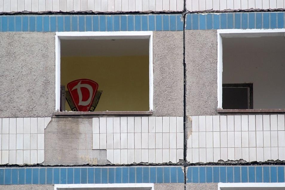 2013: Ein Dynamo-Fan lebte einst im Elfgeschosser Schweitzer-Straße 18/19.