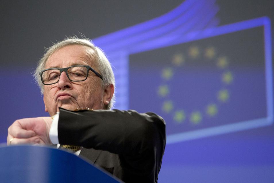 Jean-Claude Juncker, Kommissionspräsident der EU, wollte die halbjährliche Zeitunstellung schnell abschaffen.