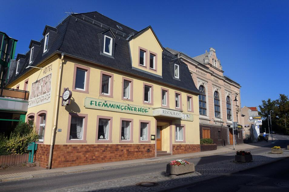Der Flemmingener Hof gehörte früher zu den renommierten Gasthäusern in Hartha. Seit 2017 hat er jedoch geschlossen.