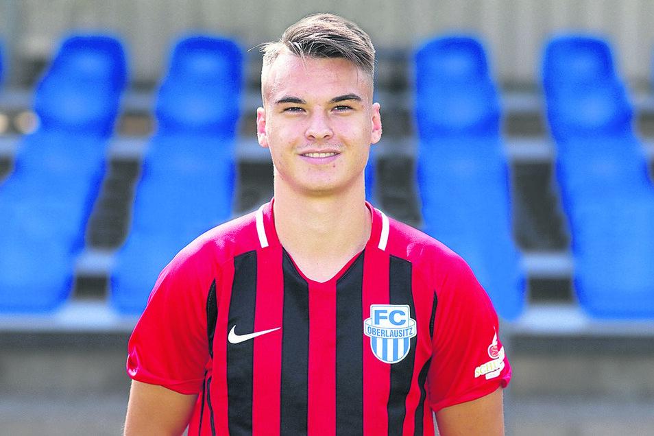 8 Tim Hoffmann (20), Abwehr (Neuzugang vom VfB Auerbach)